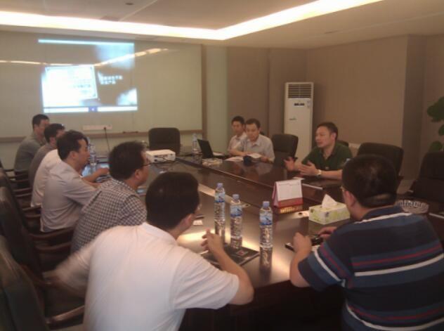 热烈欢迎河南省巩义市商贸考察团来最佳电子竞技即时竞猜平台参观交流